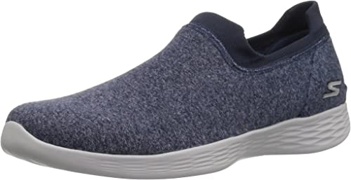 Details about Skechers YOU Define Slip On Trainers Ladies Shoes Womens Footwear