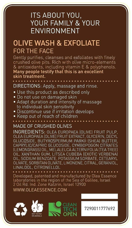 Amazon.com: Olea Essence Olive Wash & Exfoliate for Hands & Body ...