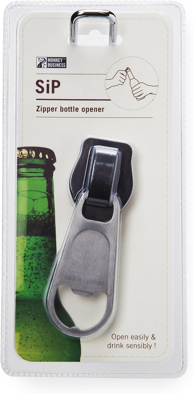 black Bottle opener New Monkey business Sip
