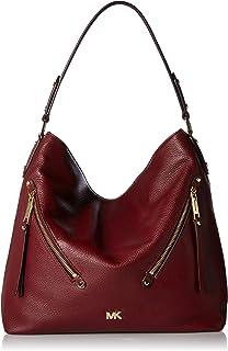 40b1eb09c93e9b MICHAEL Michael Kors Women's Marlon Shoulder Bag, Natural/Admiral ...