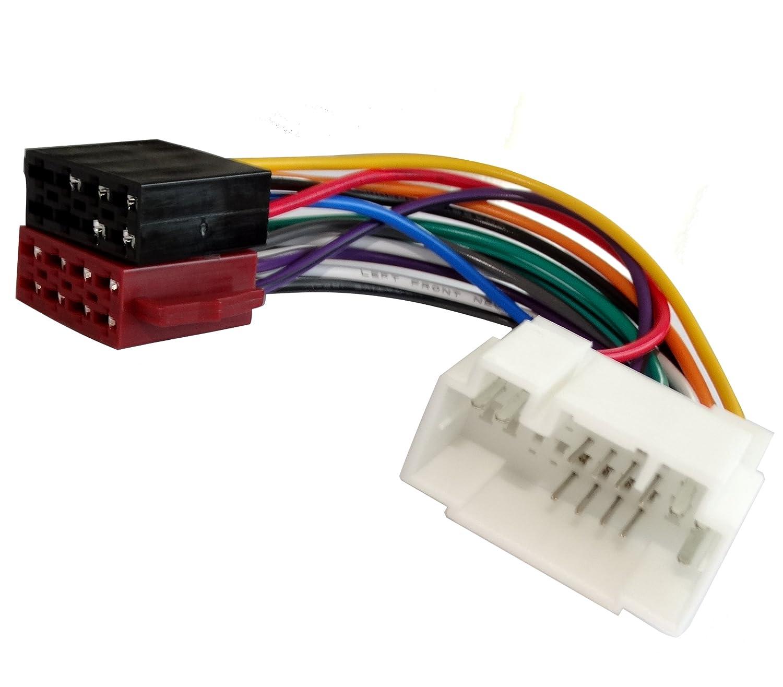 AERZETIX: Adaptateur autoradio ISO E2 câ ble faisceau convertisseur C1997 3800946310334