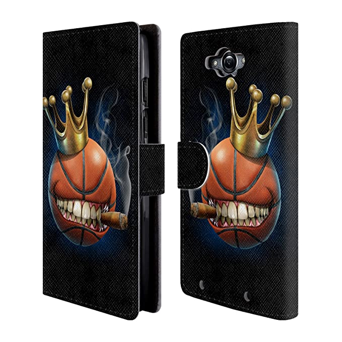 Official Tom Wood King Of Basketball Monsters Leather Book Wallet Case Cover For Motorola DROID Turbo