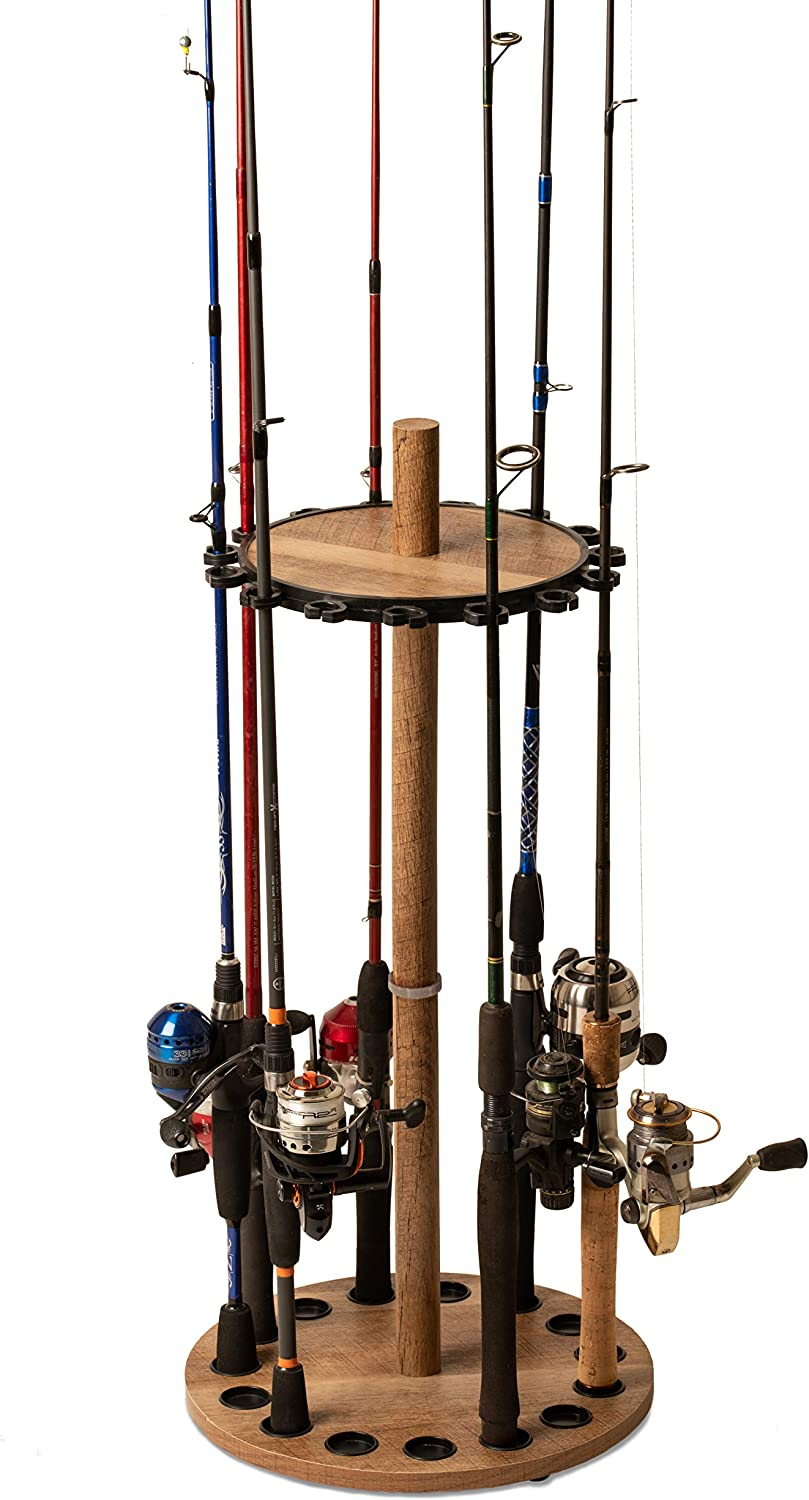 Old Cedar Outfitters Round Rack Fishing Rod Holders