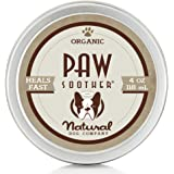 Natural Dog Company PAW SOOTHER   Organic, All-Natural   For Healing Dry Cracked Dog Paw Pads
