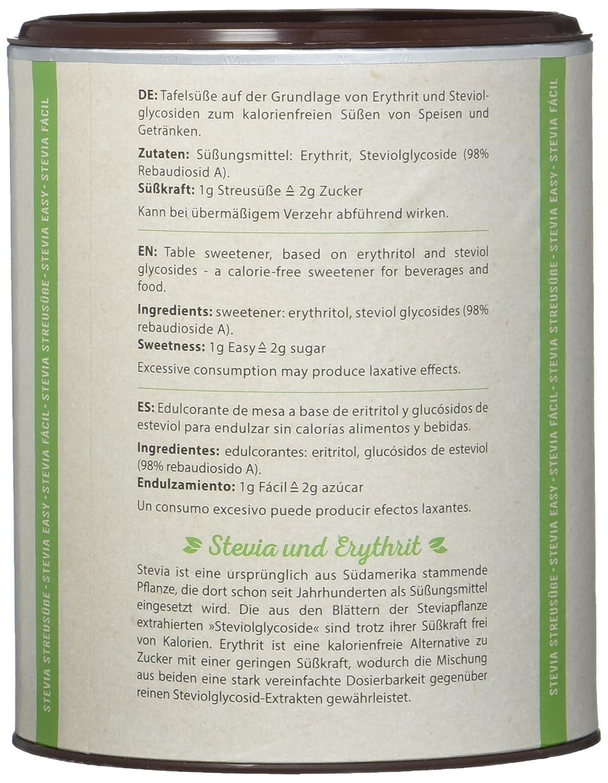Daforto Stevia Streusüße, 1er Pack (1 x 300 g): Amazon.de ...