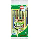 BIC ECOlutions Mechanical Pencil, Medium Point (0.7mm), Black, 10 Pencils