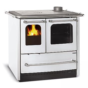 La Nordica cocina horno de 6.5 kW La nordica Sovrana easy, Blanco ...