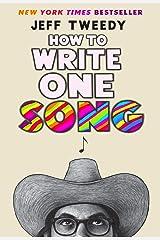 How to Write One Song (English Edition) Edición Kindle
