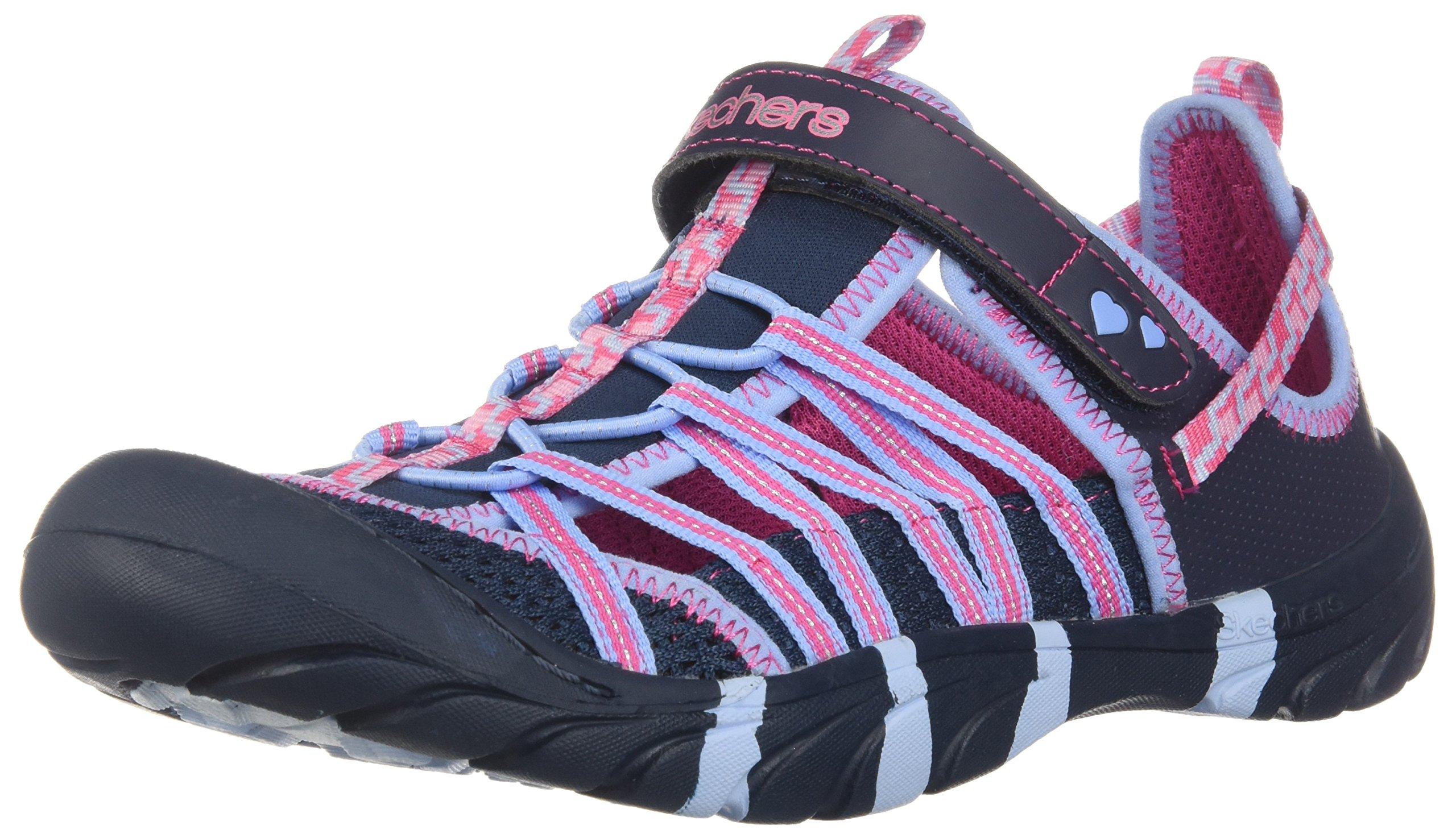 Skechers 86734L Kids' Summer Steps - Sandal, Navy/Multi - 12