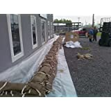 """Floodbloc Combo Pack 6 24"""" x 14"""" PLUS 2 Eight Foot x 7.5"""" Snake Bag Total 8 PACK"""