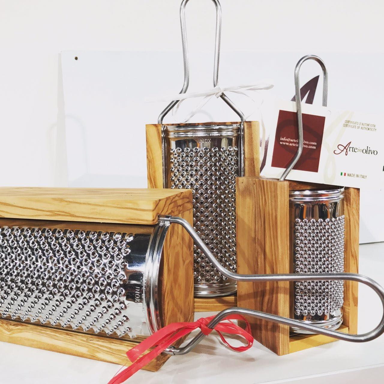 Professional Cooking Grattugia Formaggio parmigiano Tonda MOD Bari in acciao Inox cm.19x6