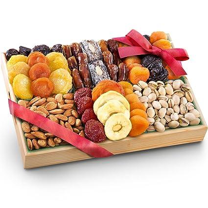 Pacific Coast Bandeja de frutas secas de lujo con frutos ...
