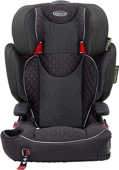 Graco Affix, Silla de coche grupo 2/3, negro: Amazon.es: Bebé