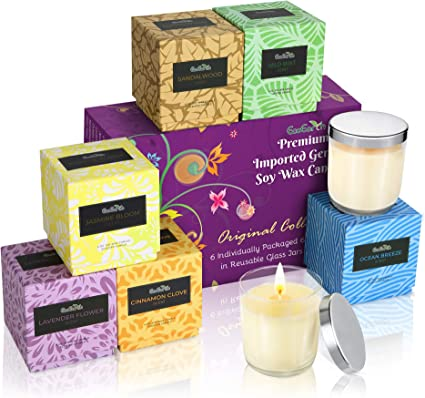 EcoEarth Deluxe Gift Candle Set