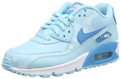 Nike Mädchen Air Max 90 Premium Leather (Gs) Low Top