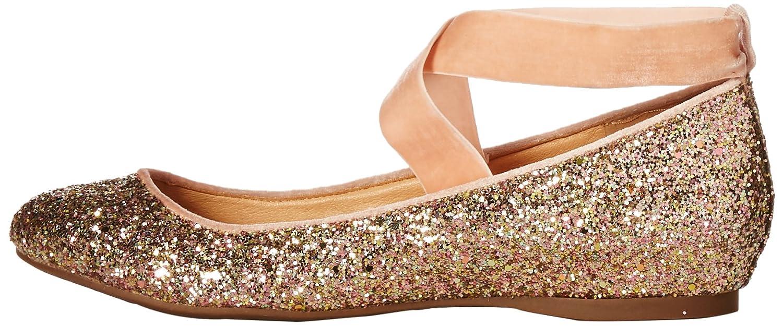 Jessica Simpson 8.5 Women's Mandayss Ballet Flat B074KKGHY6 8.5 Simpson B(M) US|Champagne Multi 99ee60