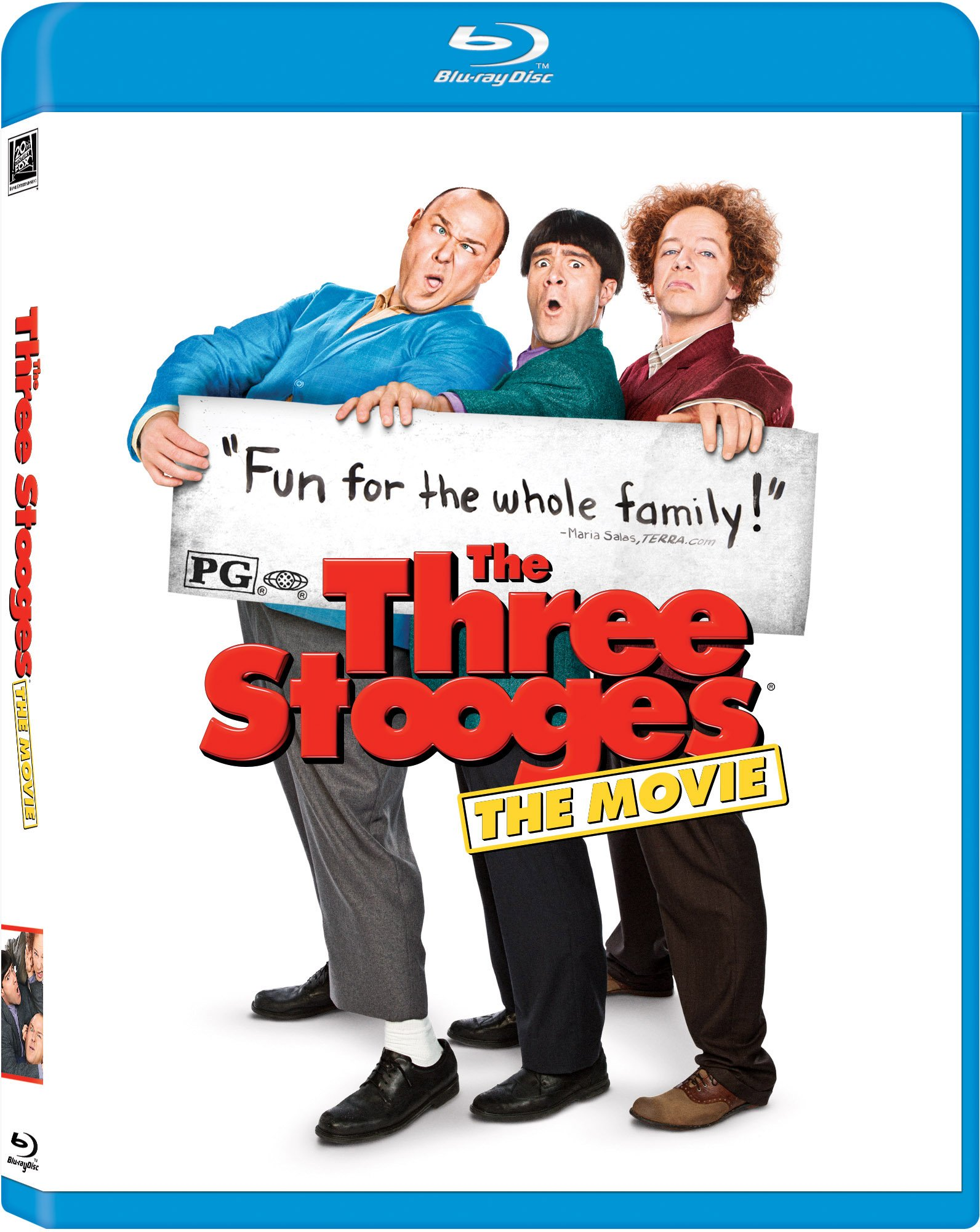 Blu-ray : The Three Stooges (Pan & Scan)