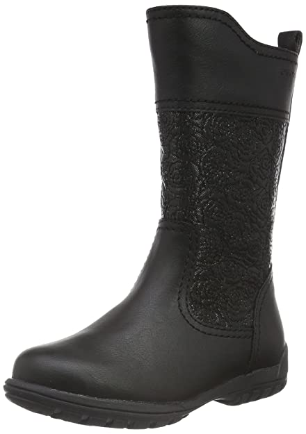 Geox Girls' Jr Crissy G High Boots