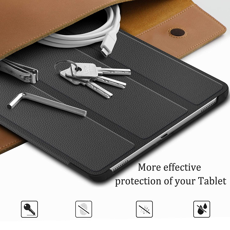 Vidrio Templado Glass Film para Samsung Tab A 10.1 2019 T510//515, combinaci/ón Fundas Duras Cover Case ELTD Funda Negro+1 Pack Pel/ícula templada para Samsung Tab A 10.1 Pouces 2019 T510//515