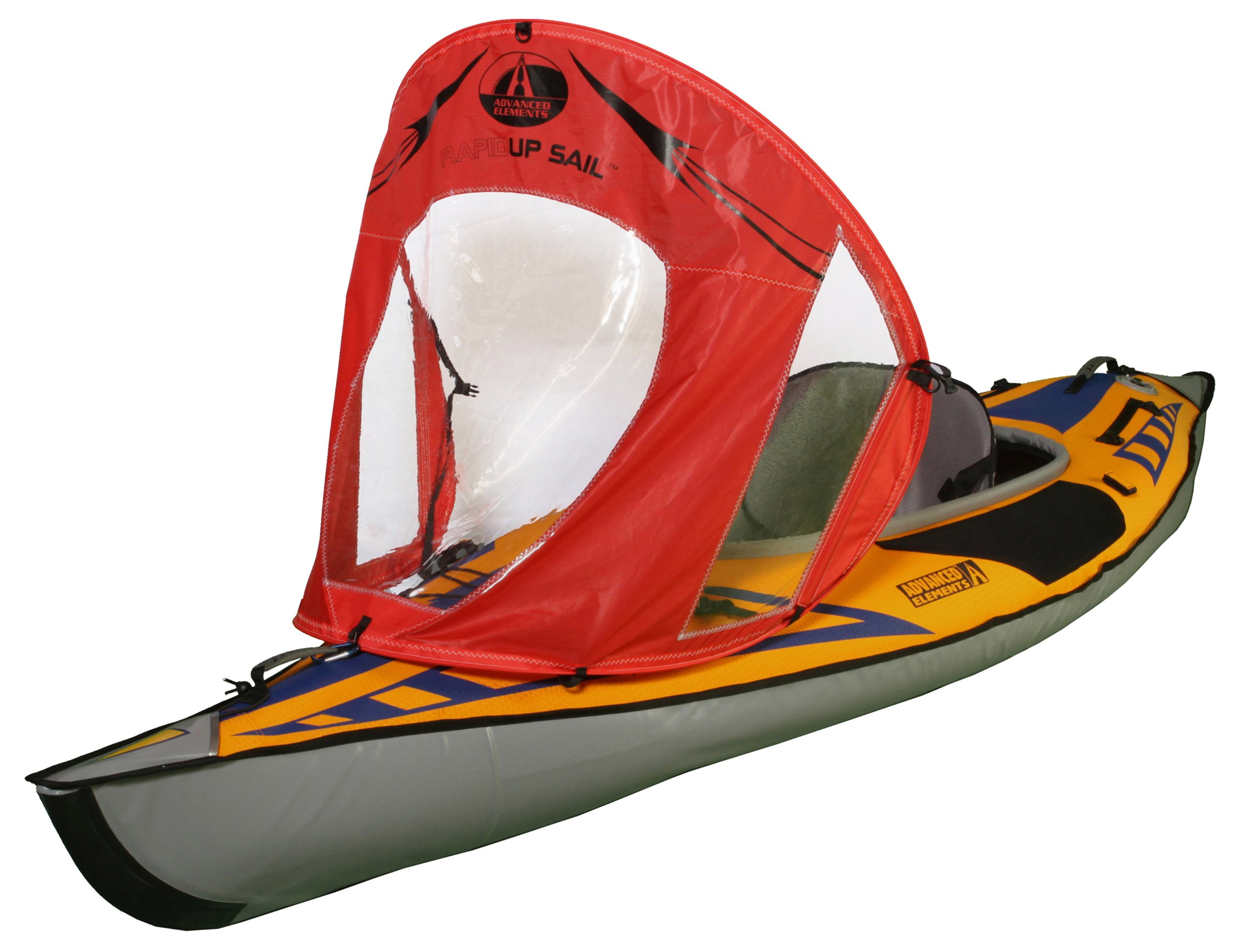 Blue-1 Olilio 42 inches Downwind Wind Sail Kit Kayak Wind Sail Kayak Paddle Board Accessories,Easy Setup /& Deploys Quickly,Compact /& Portable