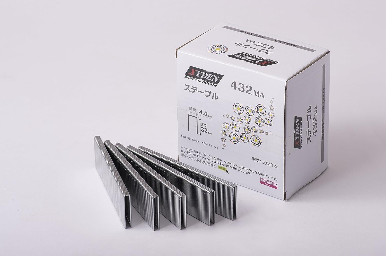 【ケース】4MAステープル 432MA 5040本×10箱 B06XYQ7N1N