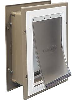 Amazon.com : Ideal Pet Products Original Pet Door with Telescoping ...