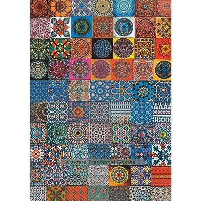 Piatnik Colourful Fridge Magnets Jigsaw Puzzle (1000 Pieces): Toys & Games