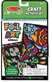 Melissa & Doug On the Go Foil Art Craft Activity Set - Animals