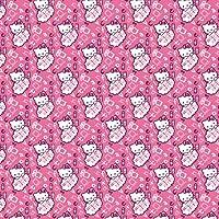 Hello Kitty 2M Yap. Folyo,Pembe Desenl