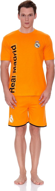 Real Madrid Pijama Naranja S: Amazon.es: Ropa y accesorios