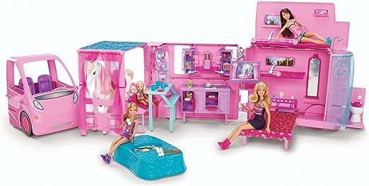 Amazon.es: Barbie - Supercaravana Amigas (Mattel X8410): Juguetes ...