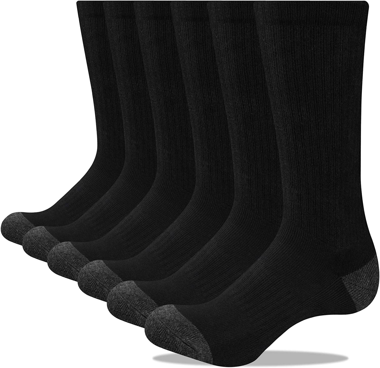 3 6 12 Pair SOFT COTTON Diamond Star Men/'s Low Cut Socks Full Cushion Size 10-13