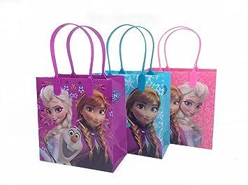 Amazon.com: 12 x Disney Frozen Goodie bolsas Party Favor ...