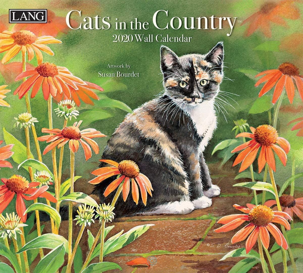 The Lang Companies Cats in The Country 2020 Wall Calendar (20991001899)