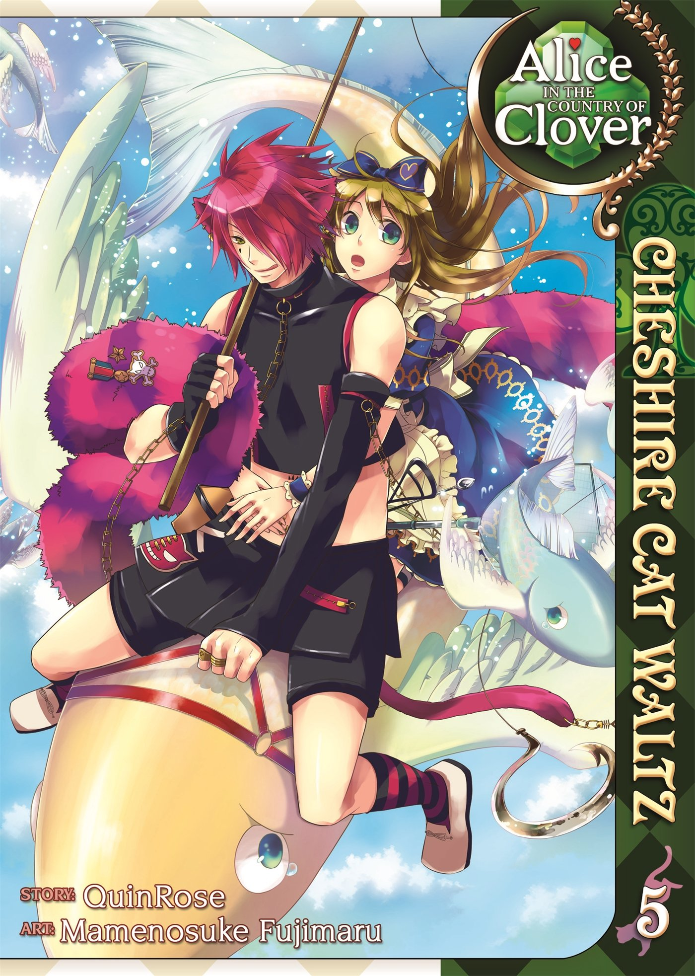 Read Online Alice in the Country of Clover: Cheshire Cat Waltz Vol. 5 PDF