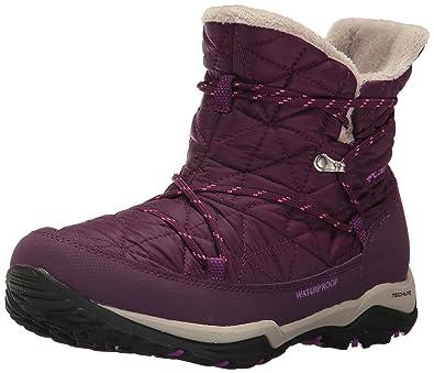 bd48f614a3ddc0 Columbia Women's Loveland Shorty Omni-Heat Snow Boot, Purple Dahlia,  Intense Violet,