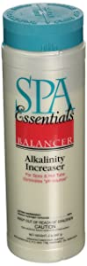 Spa Essentials 32538000 Total Alkalinity Increaser Granules for Spas and Hot Tubs, 2-Pound