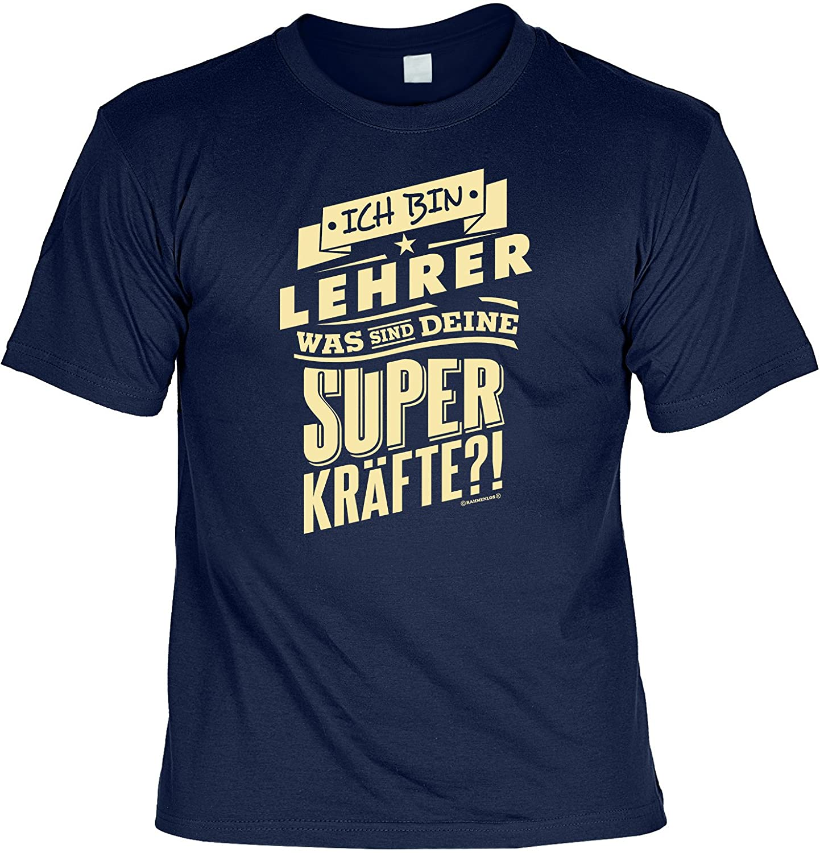 Lehrer Sprüche T-Shirt Geschenk Set : Ich bin Lehrer -- Lehrer Shirt ...