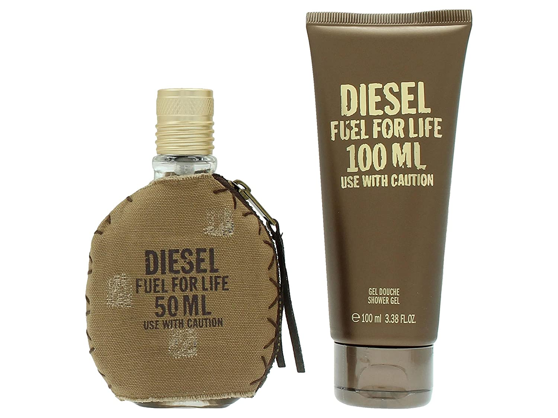 Diesel Fuel For Life pour Homme set regalo, Eau de Toilette Spray, Gel Doccia, pacco da 1 (1 X 150 G) 3614271537294