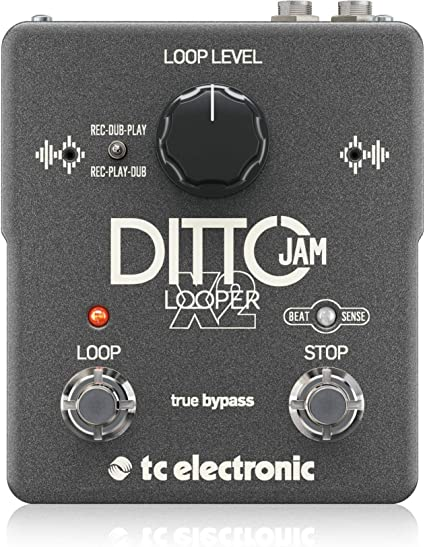 Ditto Looper NEW Looping Mini Size Guitar Effect Pedal TC Electronic