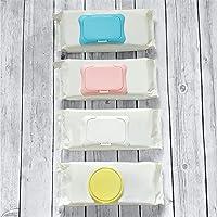 Eco-Friendly Wipe Cap, Reusable, Single Sheet Dispenser, Easy Opening, Keeps Baby & Beauty Wipes Fresh & Moist (Auto Top…