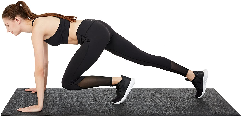 Basics High Density Exercise Equipment and Treadmill Mat IR97514-1
