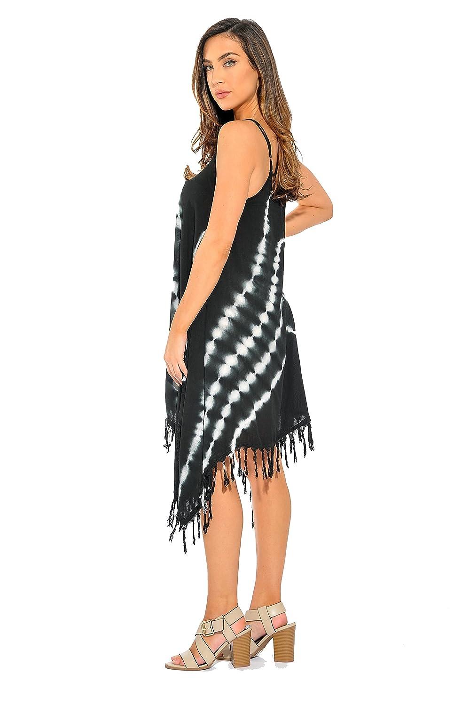 5e35b11030df Riviera Sun Fringe Dress Summer Dresses at Amazon Women s Clothing store