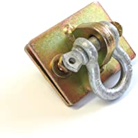 Gripon (Pack of 2) Bolt On Clevis Mount Backer Plate and 1/2in Shackle Included