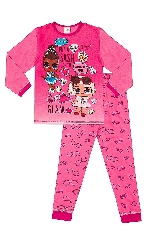 Girls LOL Surprise Dolls Pyjamas L.O.L Pink (10-11 Years)