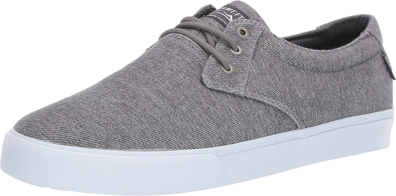 Lakai Footwear Daly Charcoal Textilesize Tennis Shoe, Charcoal Textile
