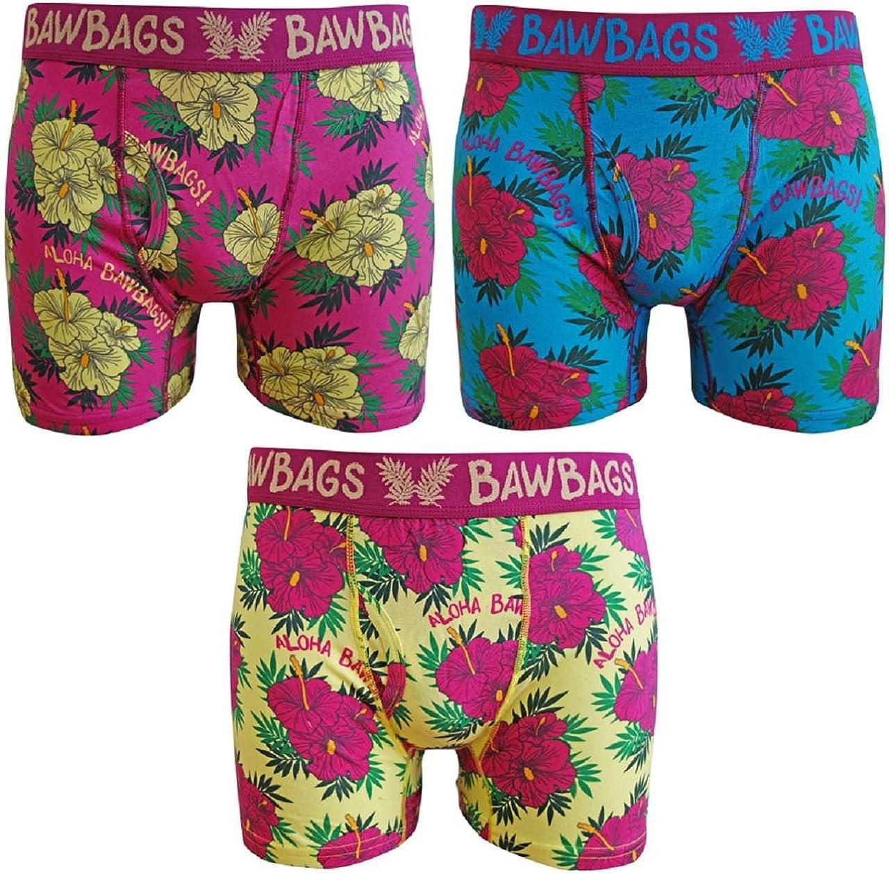 BawBags 3 Pack Boxers Aloha