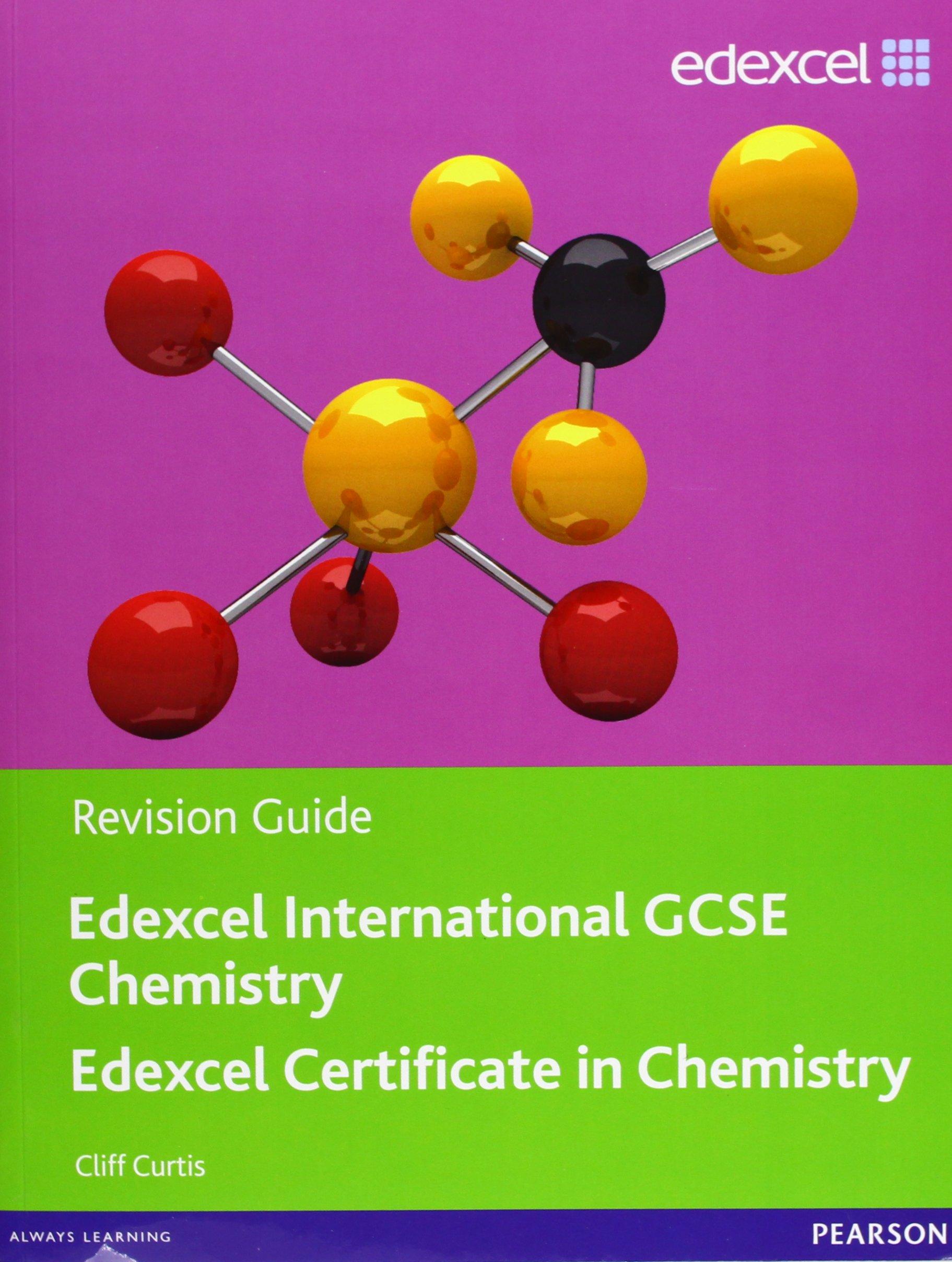 Edexcel Igcse Chemistry. Revision Guide (Edexcel International GCSE): Cliff  Curtis: 9780435046729: Amazon.com: Books