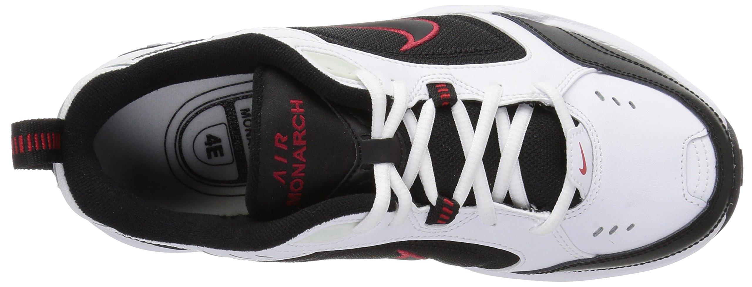 Nike Men's Air Monarch IV Cross Trainer, White/Black, 6.0 Regular US by Nike (Image #7)