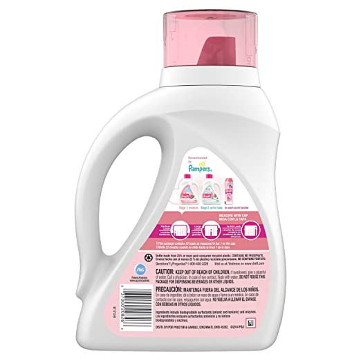 Amazon.com : Dreft Stage 1: Newborn Liquid Laundry Detergent (HE), Natural for Baby, Newborn, or Infant, 50 oz, 32 loads : Grocery & Gourmet Food